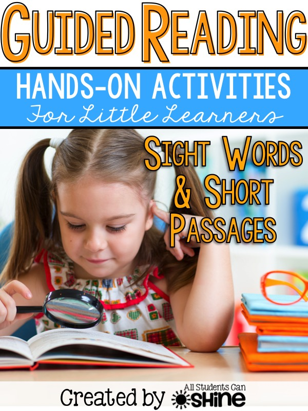 guided reading sight words