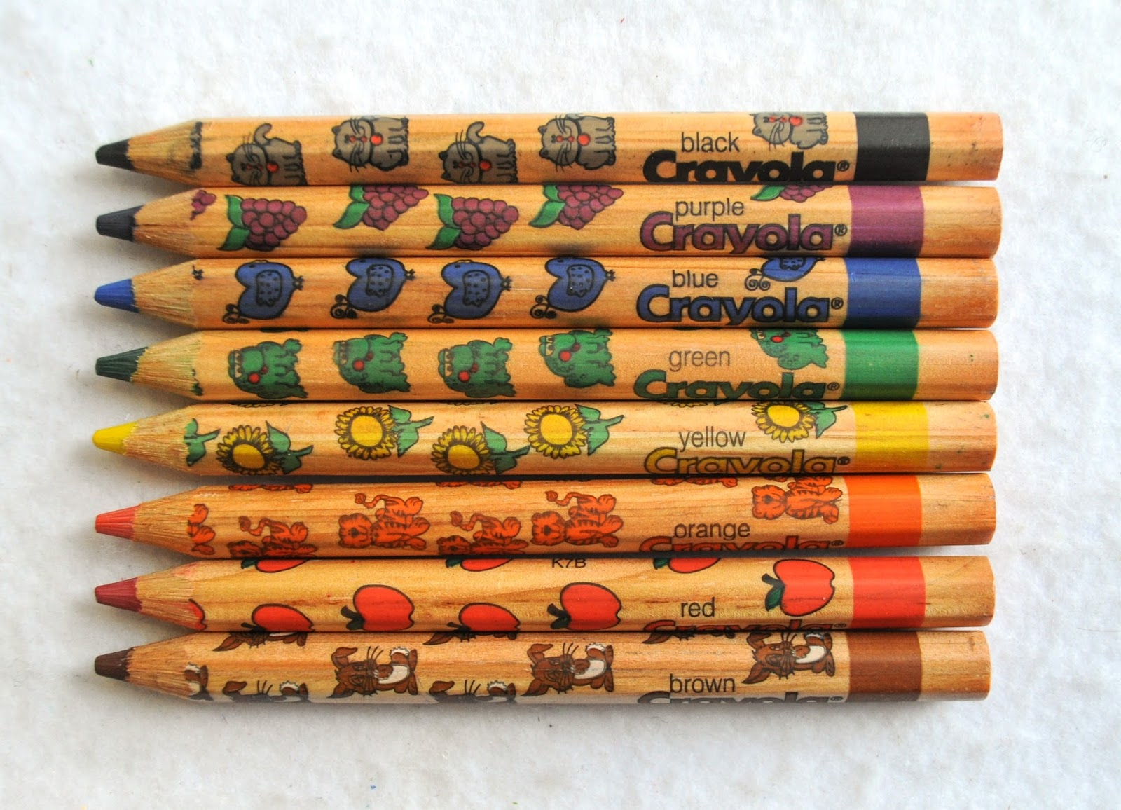 8 Count Crayola Write Start Colored Pencils Whats Inside the Box