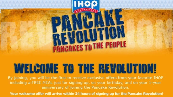iHope coupons 2014 - 3 Free Meals w/ Pancake Revolution ...