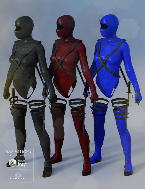 Shadow Watcher for Genesis 3 and Genesis 2 Female