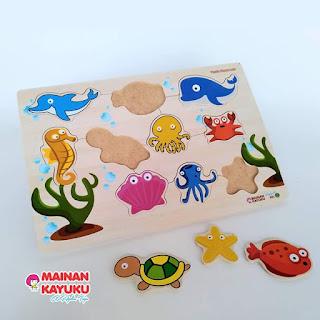 Gambar Puzzle Hewan Laut