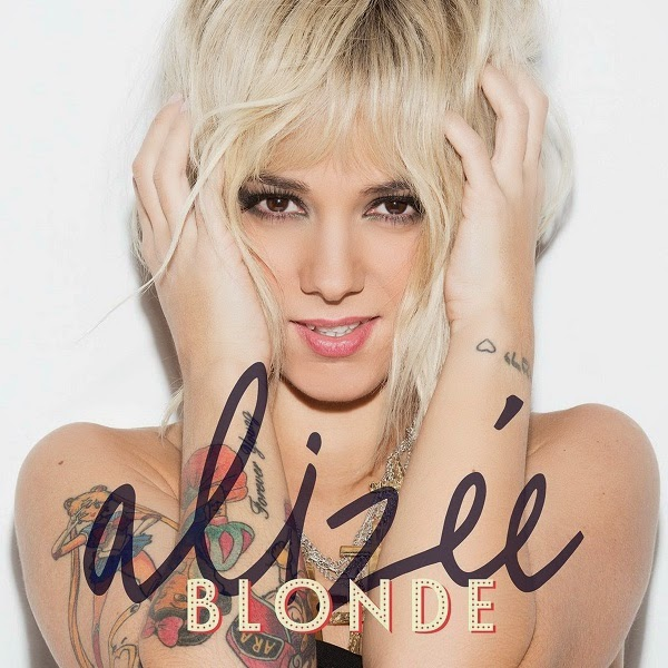 Alizée- Blonde 2014