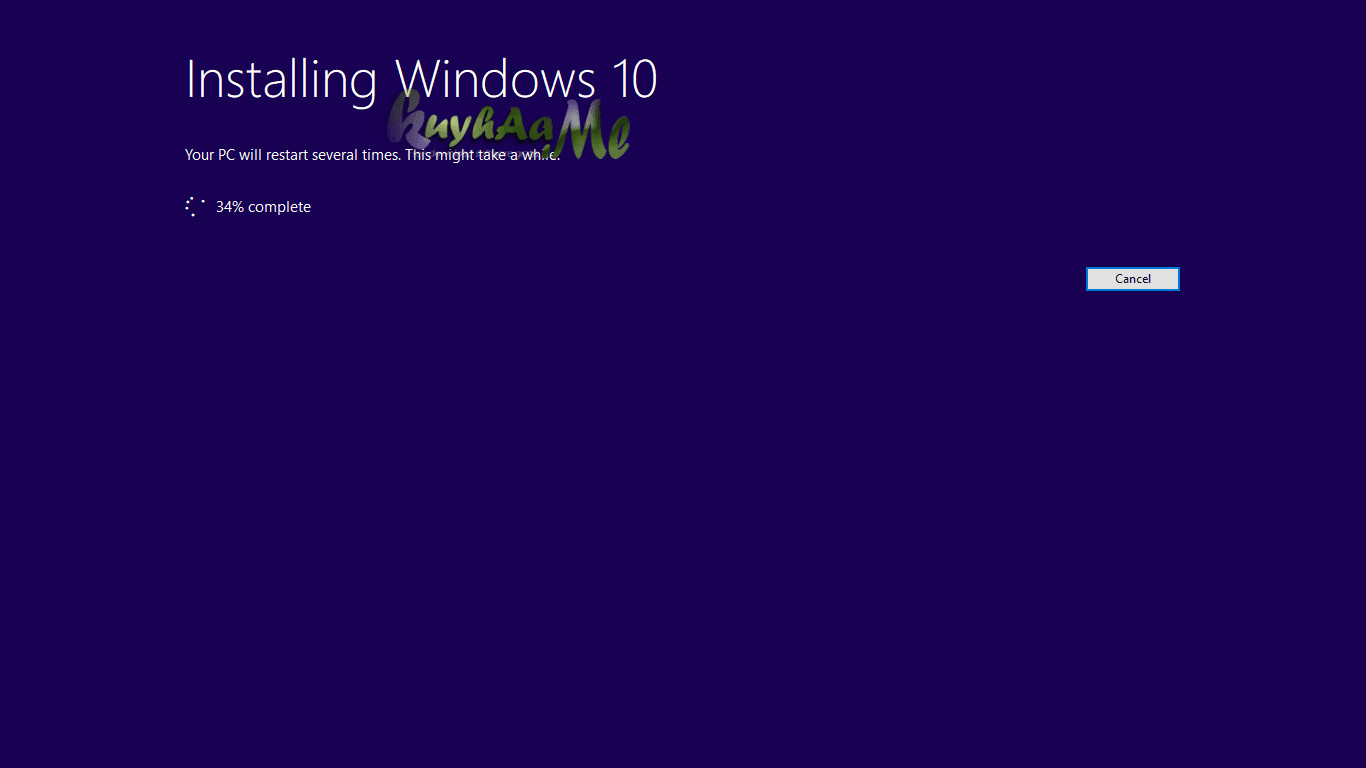 Cara update windows 10 spring