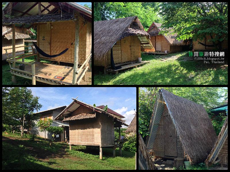 [泰國.拜縣] 「KK.HUT」來自泰北最原始風格的茅草竹編屋
