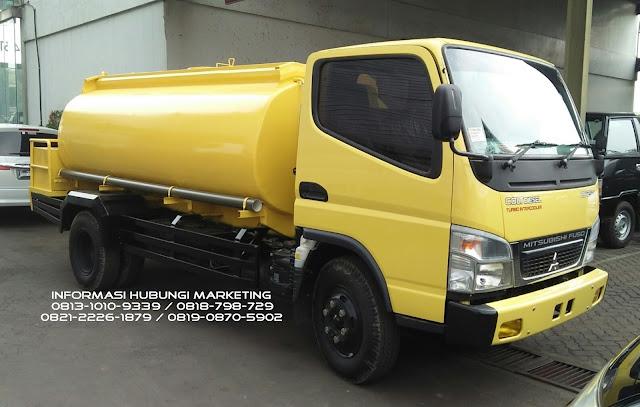 truck mitsubishi colt diesel tangki air