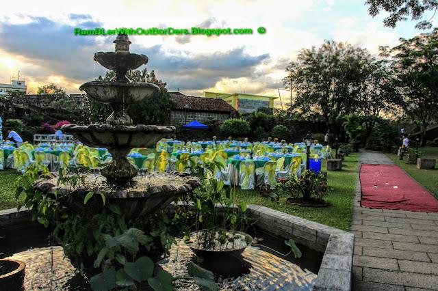 Wedding reception, Garden, Baluarte de San Diego, Intramuros, Manila, Philippines