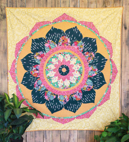 Mandala Quilt Free Pattern