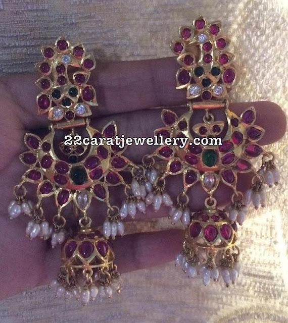 92.5 Silver Guttapusalu Earrings Gallery