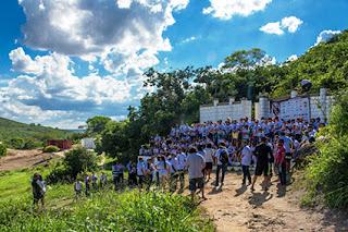 População de Cuité se une para encenar e realizar a céu aberto 5ª edição da Paixão de Cristo