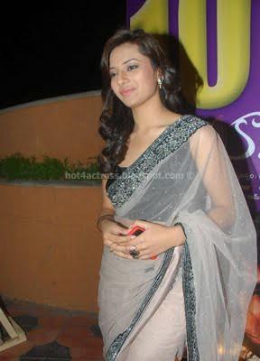Isha chawla latest saree stills