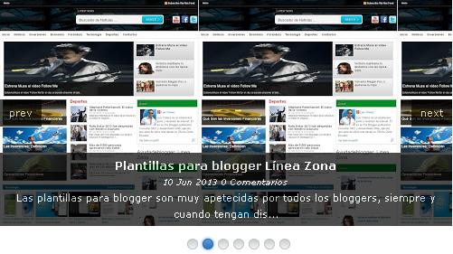 Instalar un Slideshow para blogger con un solo widget