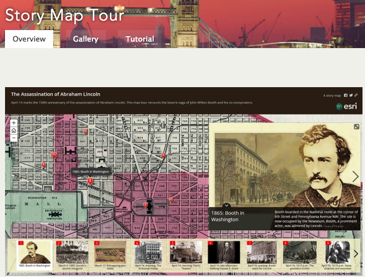 digital storytelling through maps educational technology and