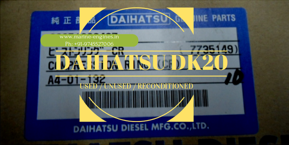 Daihatsu, DK20, Used, unused, recondition, spare parts, ship machinery, recycling, India, Alang, repair, overhaul, service