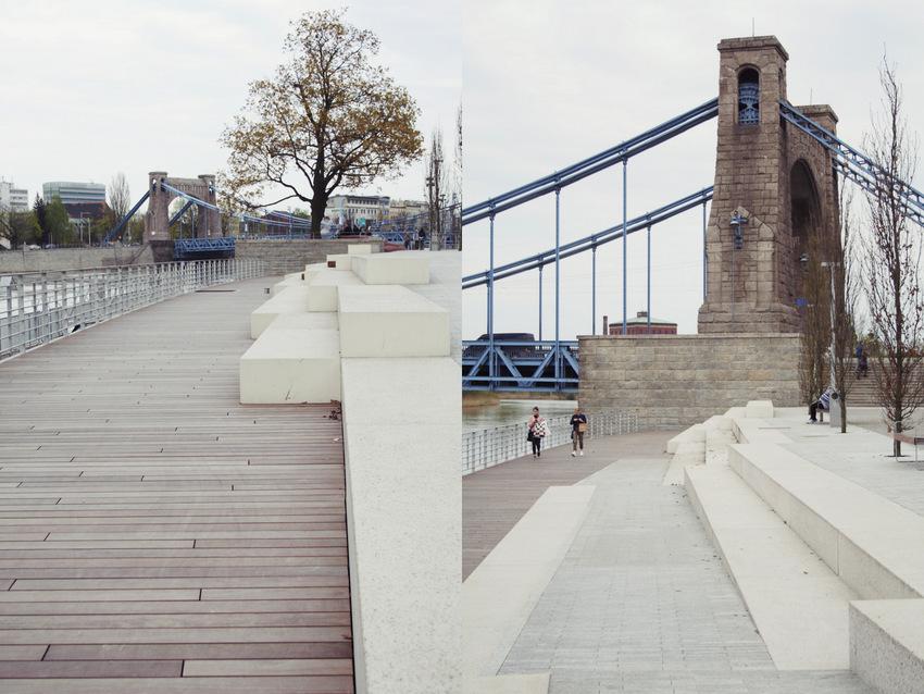 Widok na Most Grunwaldzki