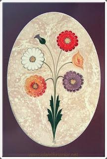 Elişi Ebru Sanatı Örnekleri