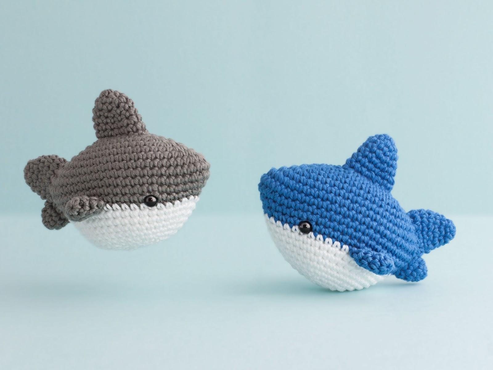 Lujo Zapatillas De Tiburón Patrón De Tejer Patrón - Ideas de ...