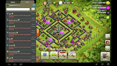 sabotase Clan member oleh Co Leader COC