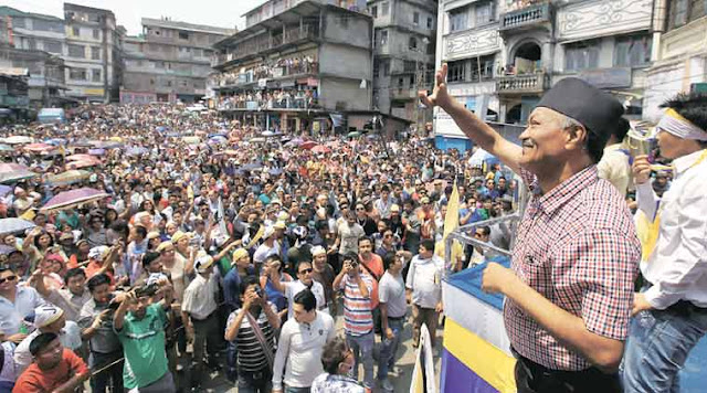Jan Andolan Party (JAP) holds interactive session in Darjeeling