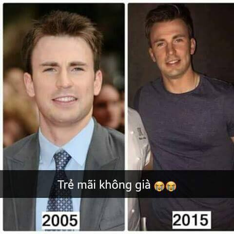 Captain America Chris Evans 2
