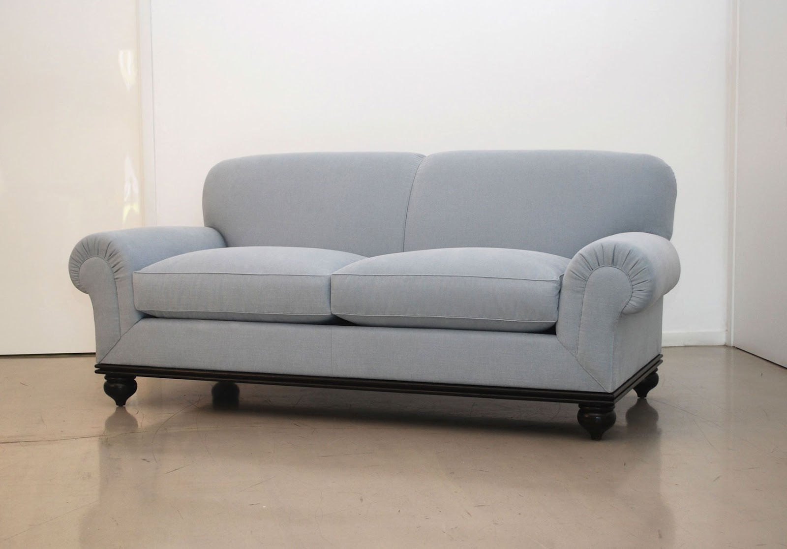Classic Design Custom Sofa With Turned Legs Interiors Inside Ideas Interiors design about Everything [magnanprojects.com]