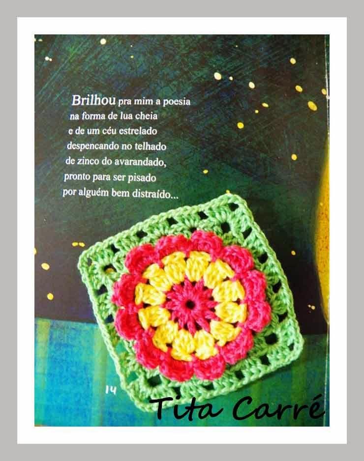 e572d6eaa1 Square Flores com Pétalas 3D com mais poesia