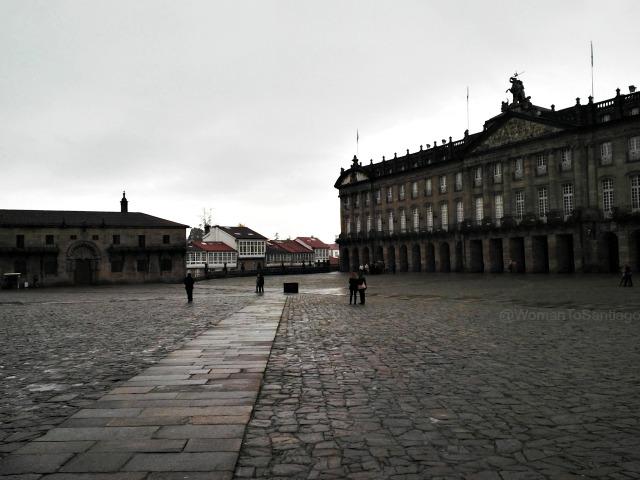 foto de la plaza del obradoiro