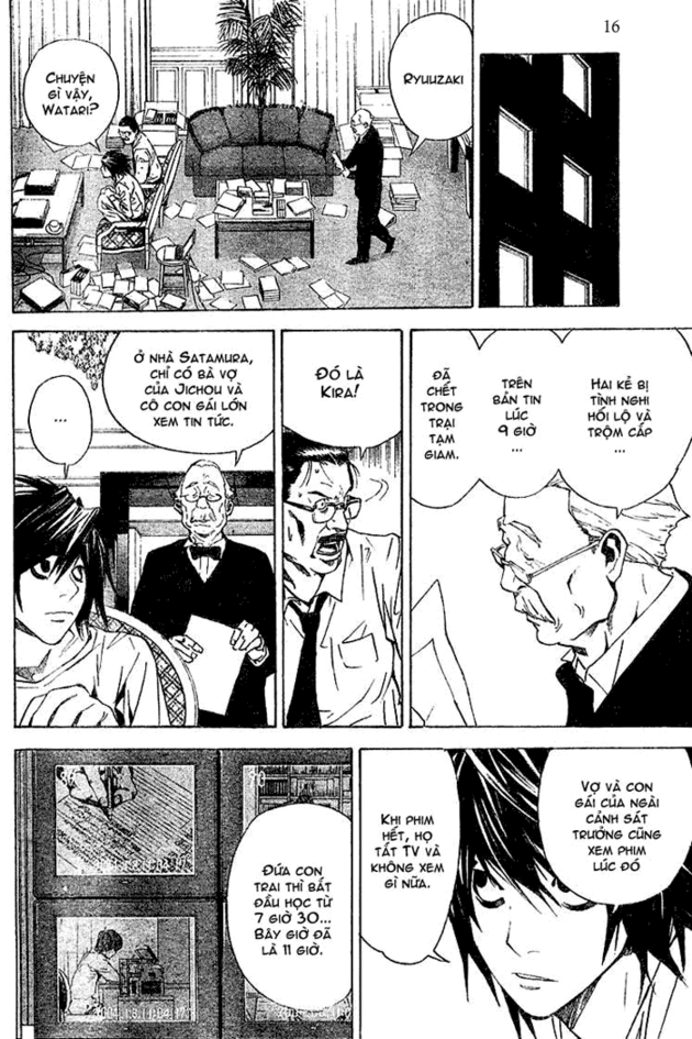 Death Note chapter 017 trang 16