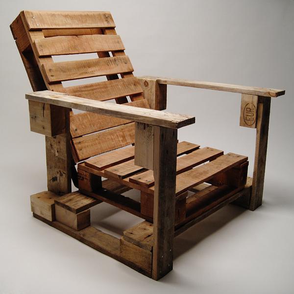 Hazlo tú mismo : Sillas de jardín hechas con palets de madera