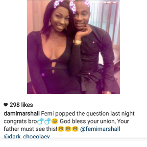 femi ayinde marshal engaged