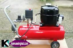 Prinsip kerja dan konstruksi mesin kompresor