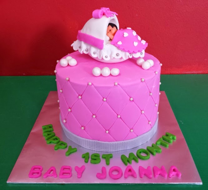 Happy 1st Month Baby Joanna
