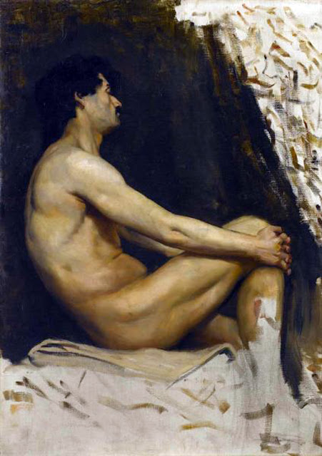Norman Hirst, Artistic nude, The naked in the art, Il nude in arte, Fine art