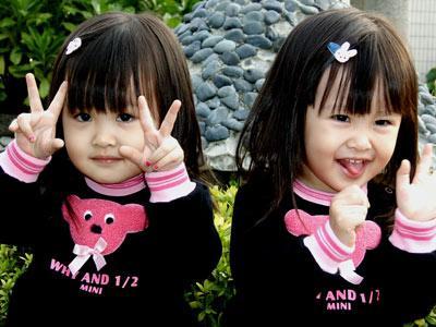 Gambar Budak Kembar Comel