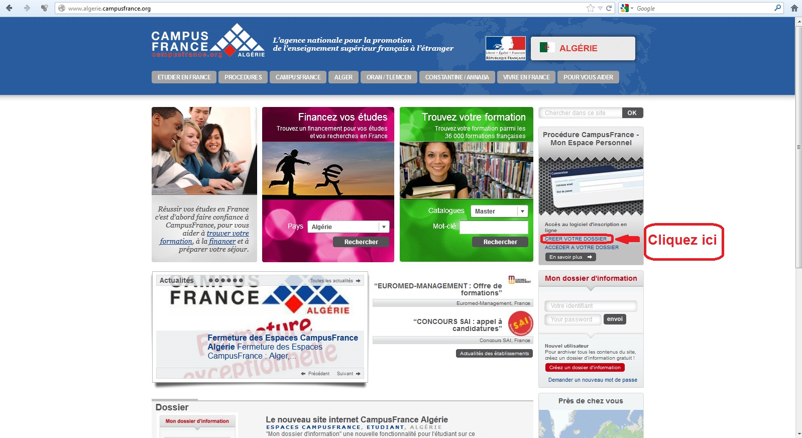 campus france russie cv