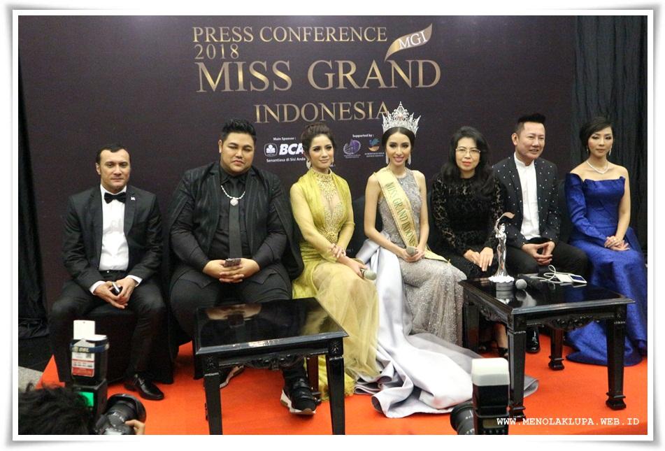 Miss Grand Indonesia 2018 punya peran untuk promosikan pariwisata indonesia