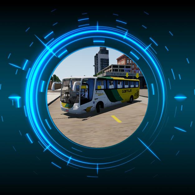 Skin Proton Bus Simulator Road - Vissta Buss LO O-500 RS Viação Gontijo