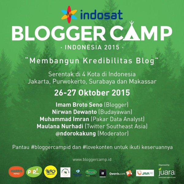 Blogger Camp 2015 Indonesia