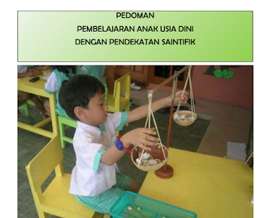 Download Pedoman Pembelajaran PAUD Kurikulum 2013 Saintifik Lengkap Terbaru 2016
