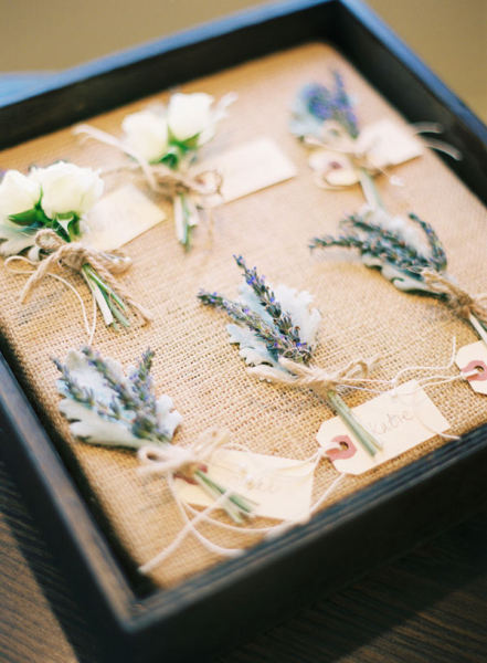 This adorable keepsake is a great way to keep dried flowers on display
