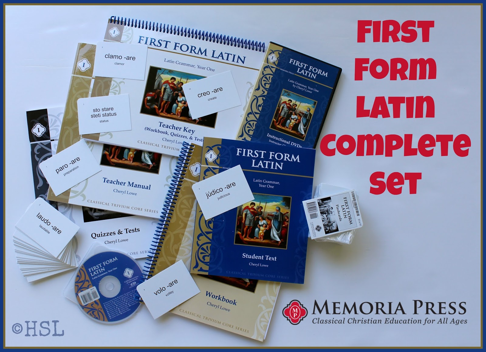 Home Sweet Life First Form Latin Complete Set From