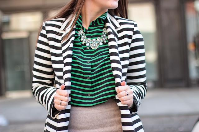 asos ovid coat, stripe jacket, asos jacket