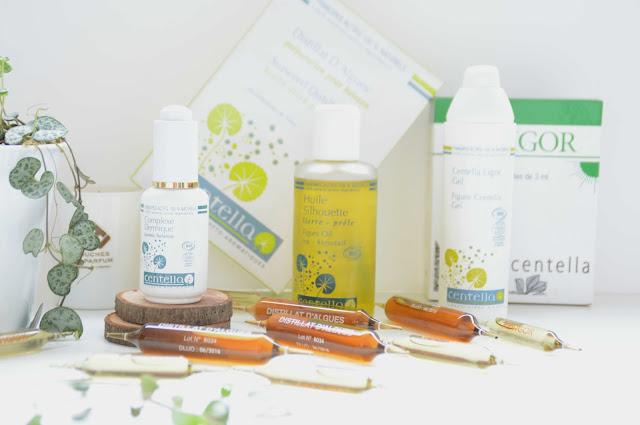 Cure minceur Centella: soin et complément bio (+ concours)