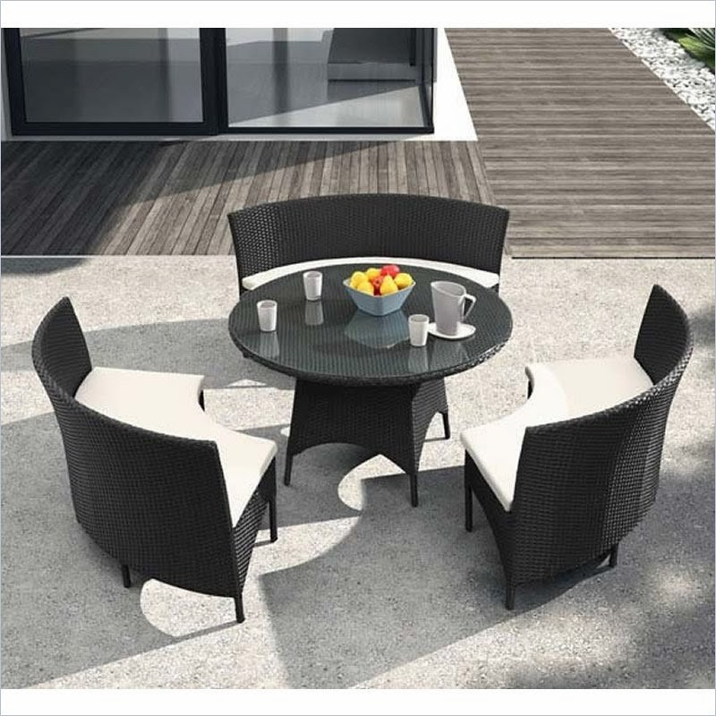All weather dining set