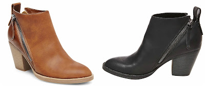 DV Jameson Double Zip Booties $27 (reg $38)