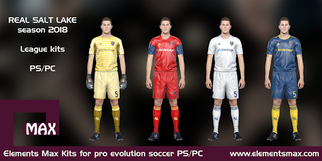 Real Salt Lake PES kits