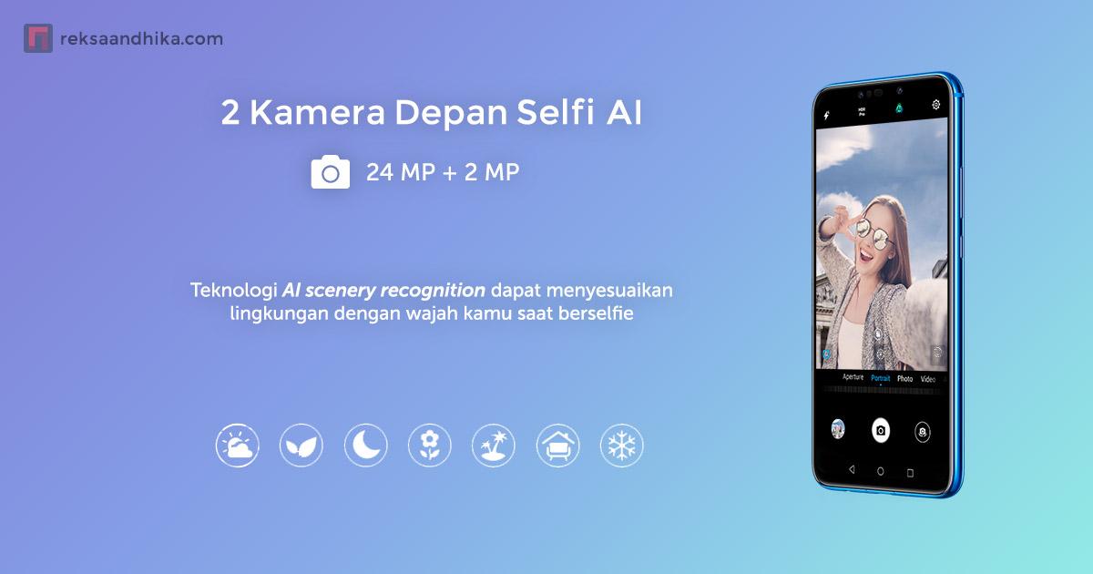 2 Kamera Selfie AI