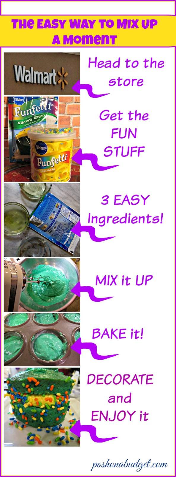 This year our GREEN is all about the CUPCAKES  #ad #MixUpAMoment