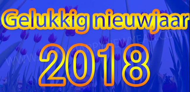 Gelukkig nieuwjaar 2018 nieuwjaarswensen