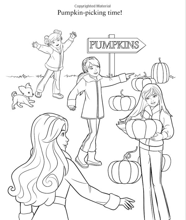 Sempre Barbie: Imagens para colorir - Barbie Halloween