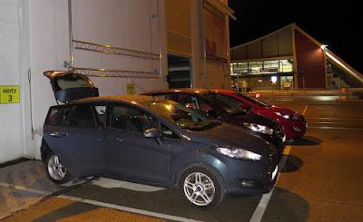 Recogiendo el coche en el aeropuerto de Memmingen